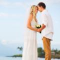 浪漫沙滩求婚现场布置