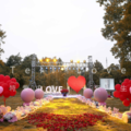 上海户外求婚场景布置,520情人节创意求婚策划