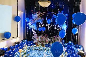 九江室内求婚现场怎么布置,九江室内求婚现场布置推荐